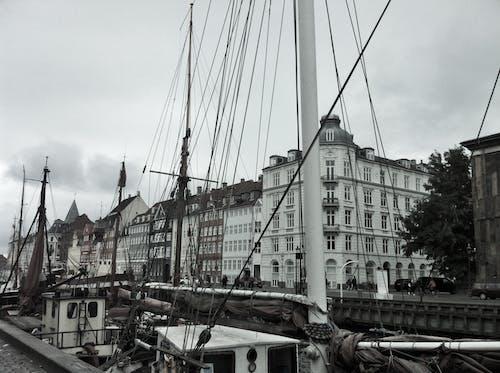 คลังภาพถ่ายฟรี ของ #kopenhagen #denmark #grey #cold