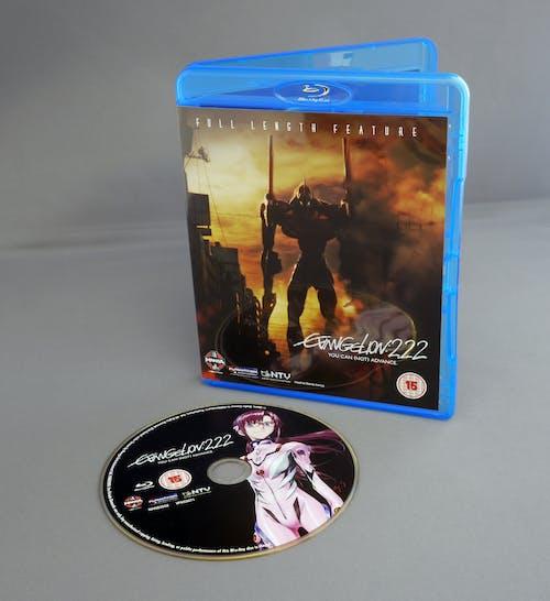 Fotobanka sbezplatnými fotkami na tému blu-ray, disk, DVD, neon genesis evangelion