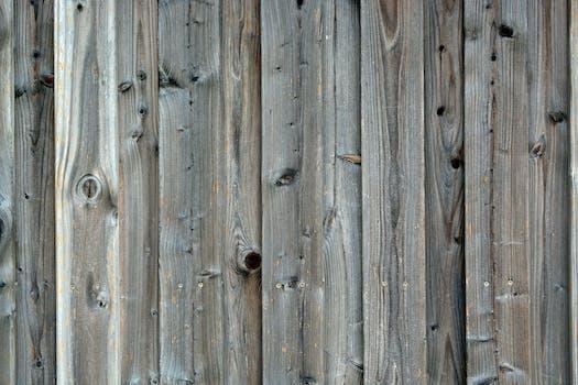 White Wooden Plank 183 Free Stock Photo
