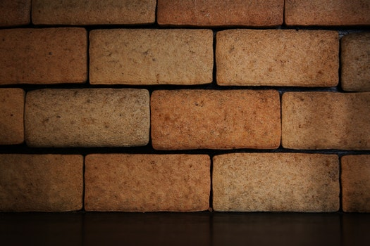 Free stock photo of wall, brown, lighting, stone