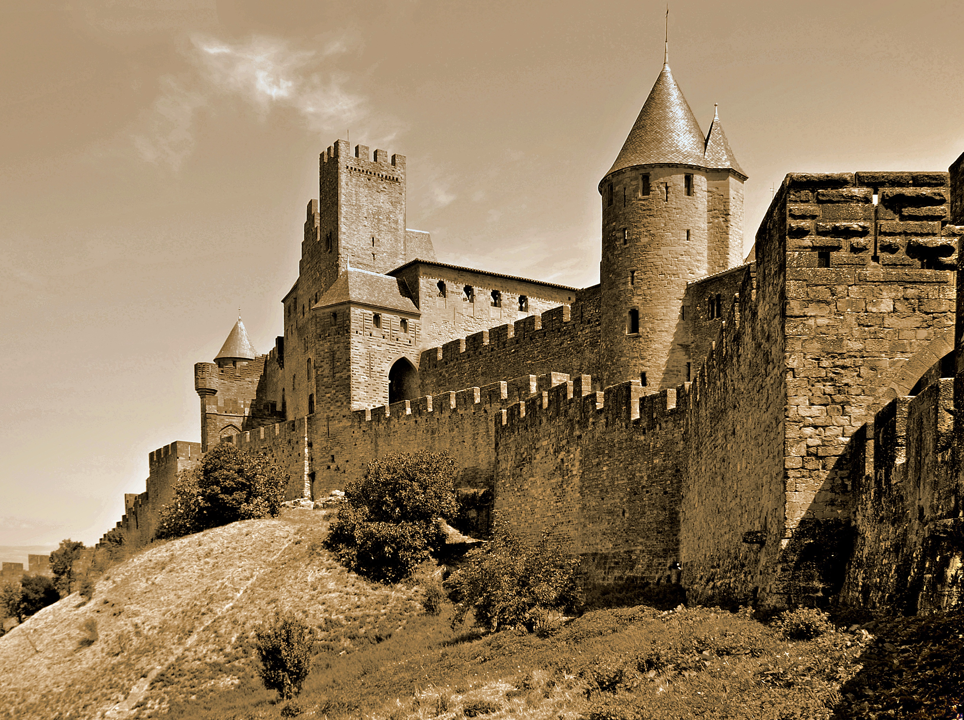 plan cul carcassonne
