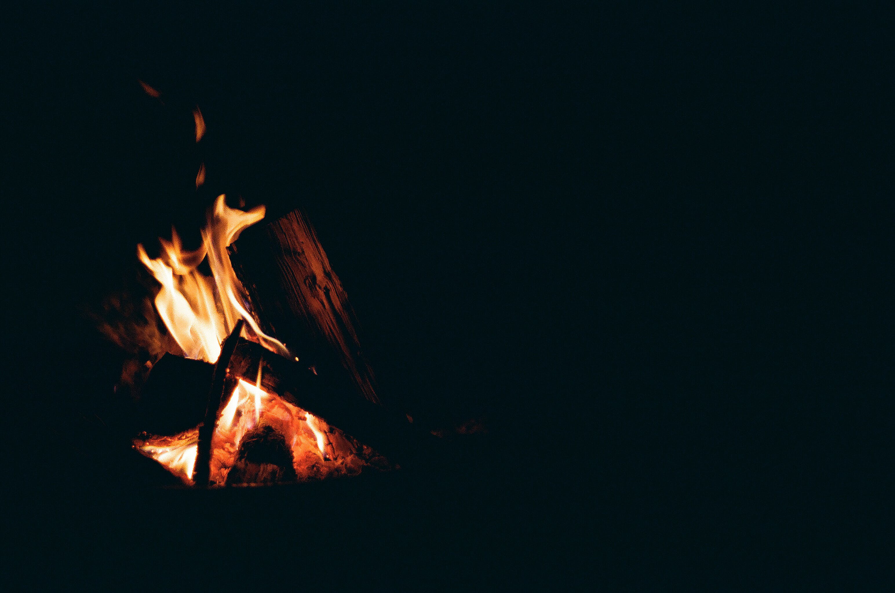 Firewood With Lit