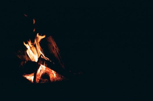 Free stock photo of romantic, fire, campfire, burning