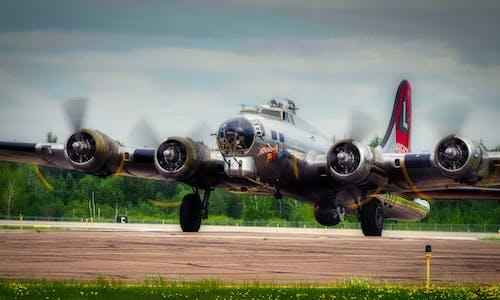 b-17, エアプレース, 爆撃機, 第二次世界大戦の無料の写真素材