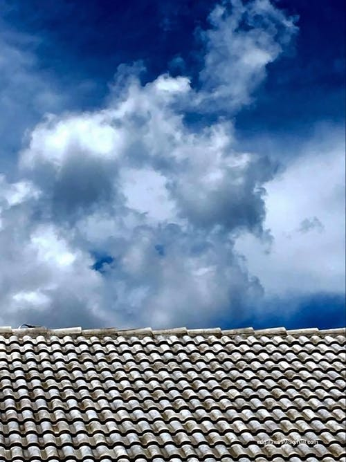 Free stock photo of clouds, cloudy sky, rooftop