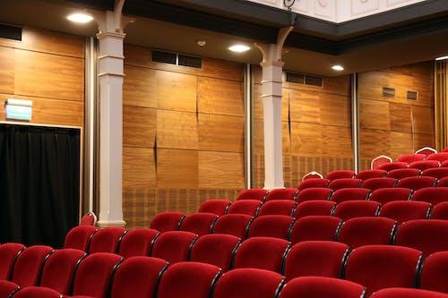 Foto d'estoc gratuïta de auditori, buit, cadires, còmode