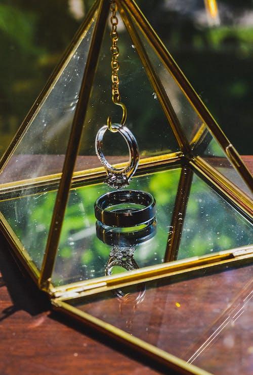 Fotos de stock gratuitas de anillos de boda, piramid