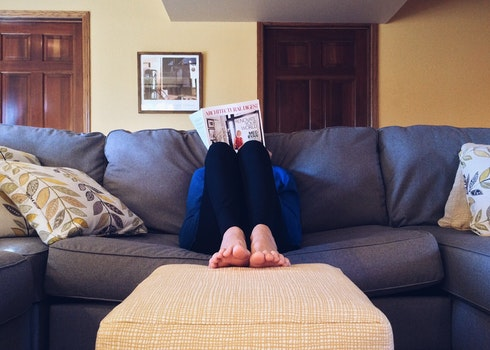 Free stock photo of person, feet, relaxation, house