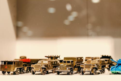 Photo of toy cars