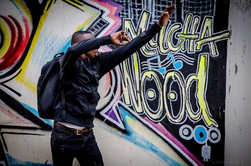 Free stock photo of african graffiti, angels, back to back