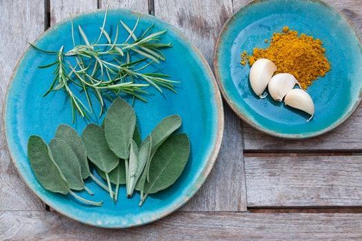 Free stock photo of plate, eat, spice, rosemary