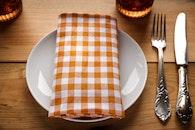 plate, restaurant, table