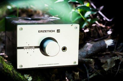 Free stock photo of amplifier, audiophile, component, desktop
