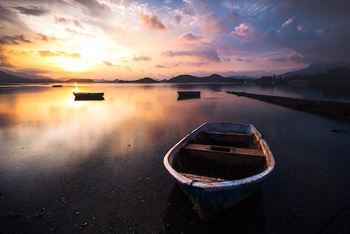 Foto d'estoc gratuïta de barca, reflex