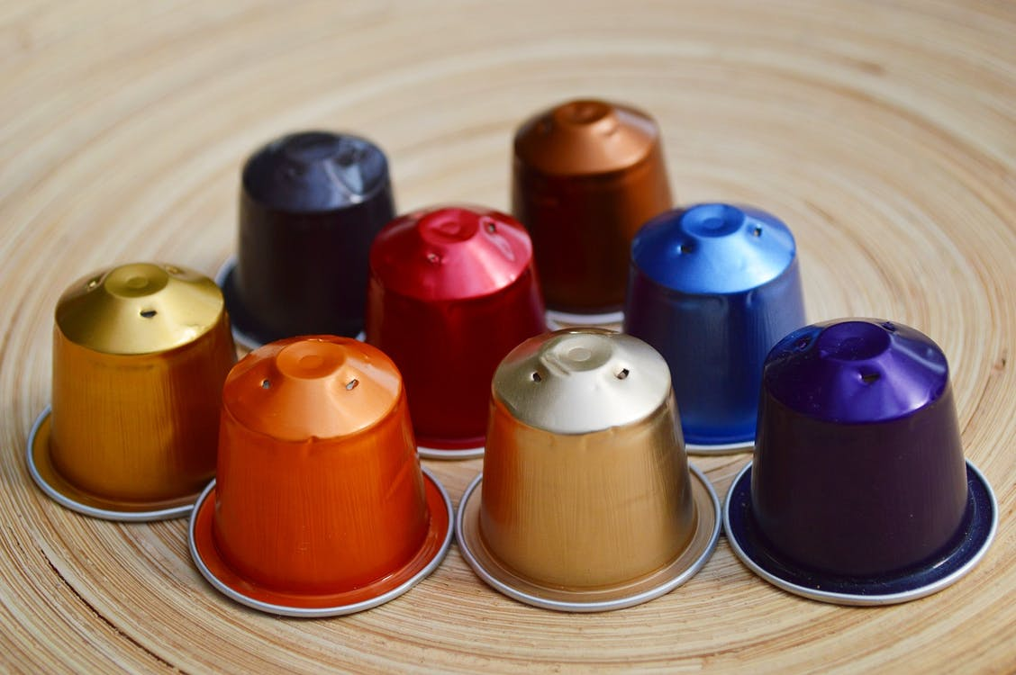 Assorted-color Thimble Lot on Table