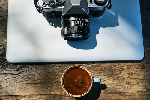 アナログ, エスプレッソ, エスプレッソショット, カメラの無料の写真素材