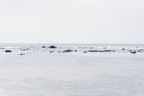 Photos gratuites de minimalisme, plage
