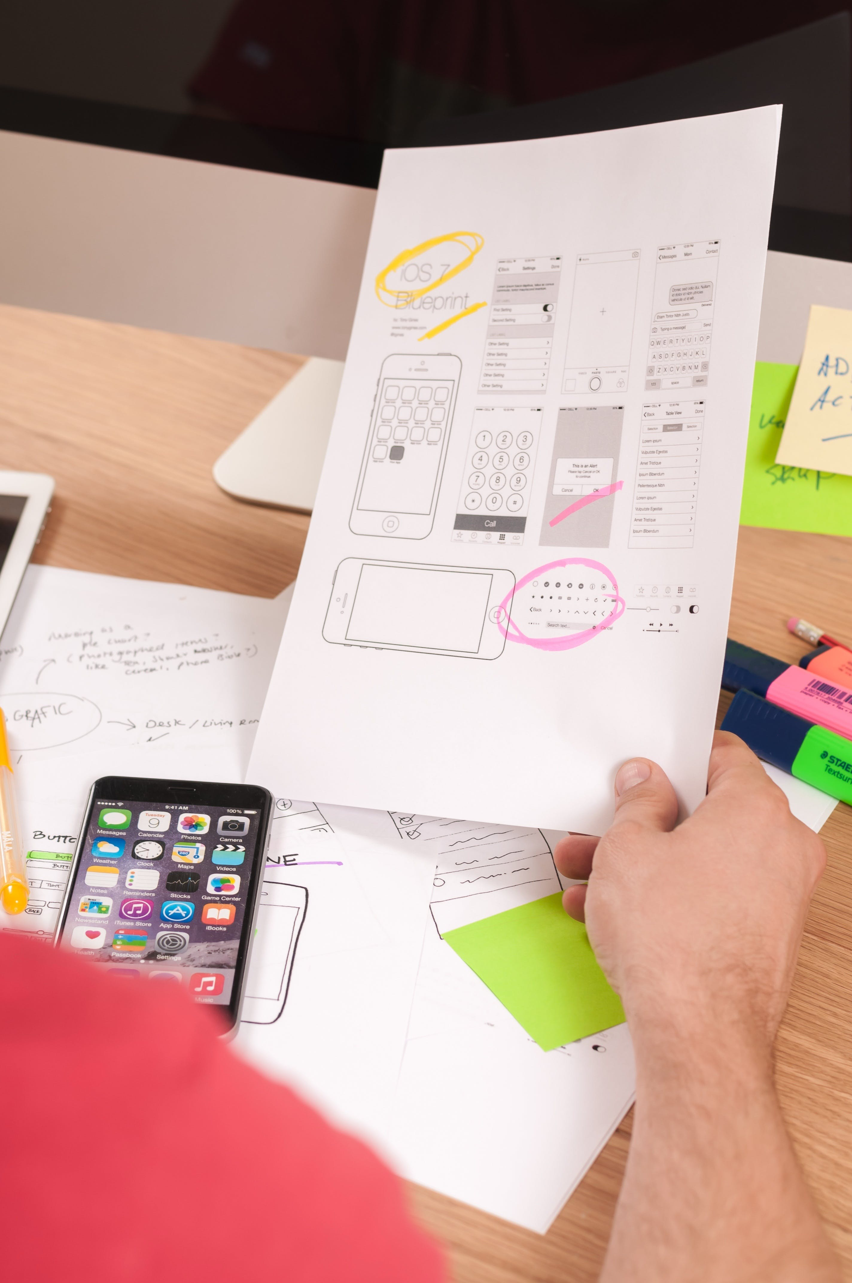 Free stock photo of marketing, menu, creative, apple
