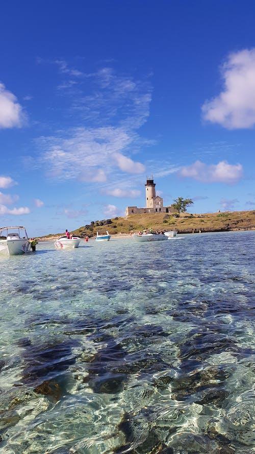 Ảnh lưu trữ miễn phí về Đảo, đèn pha, những đám mây, san hô