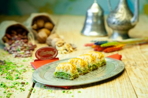 Free stock photo of baklava, delight, dessert, sugar
