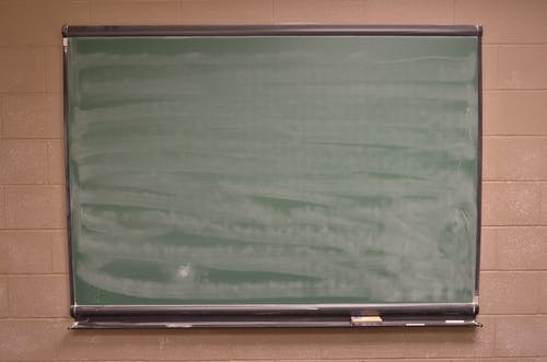 Green Chalk Board