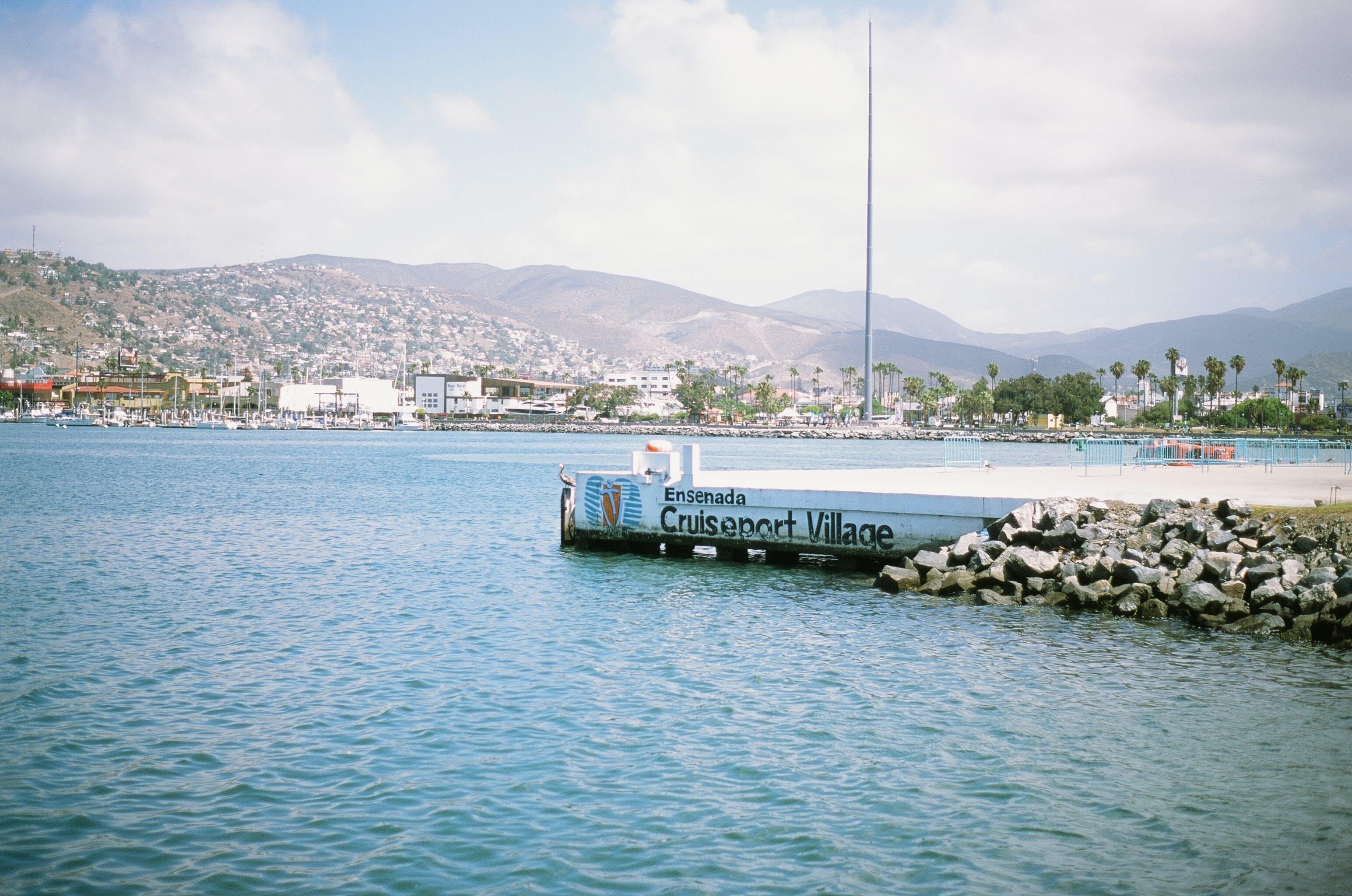 Docking Pier Beside Body of Waster