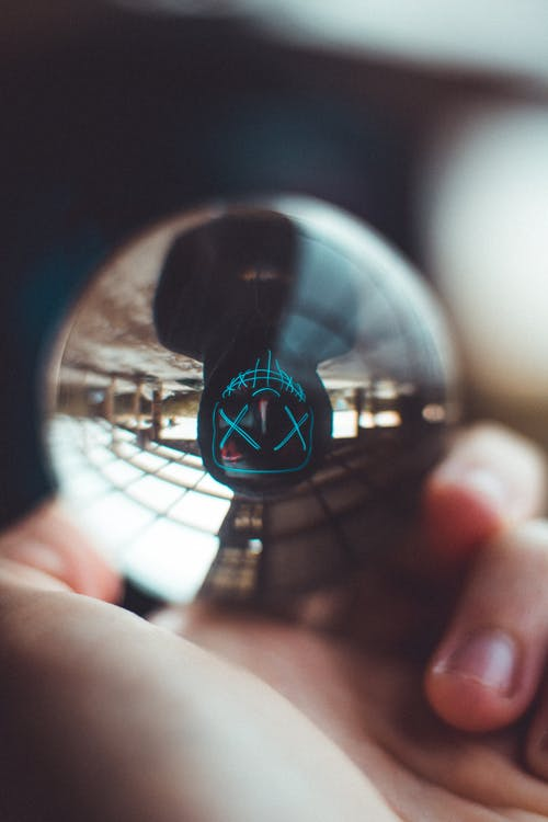 Macro Photography Of Lensball