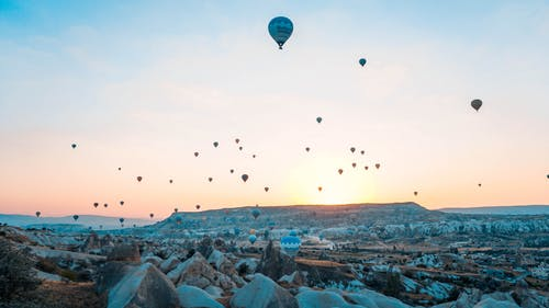 Photo of Hot Air Balloons Flying