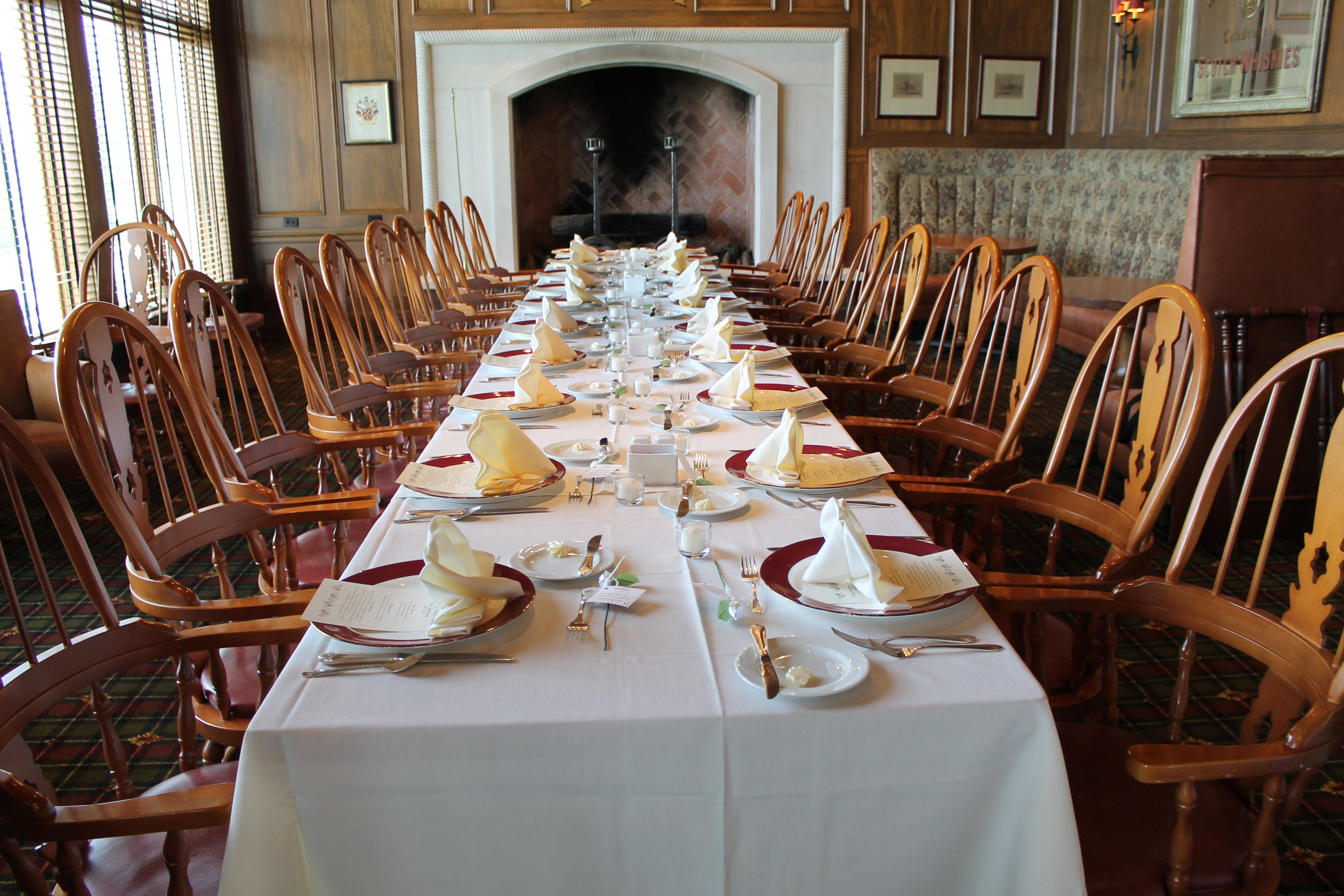 Long Table With Setting and Chair on the Side4