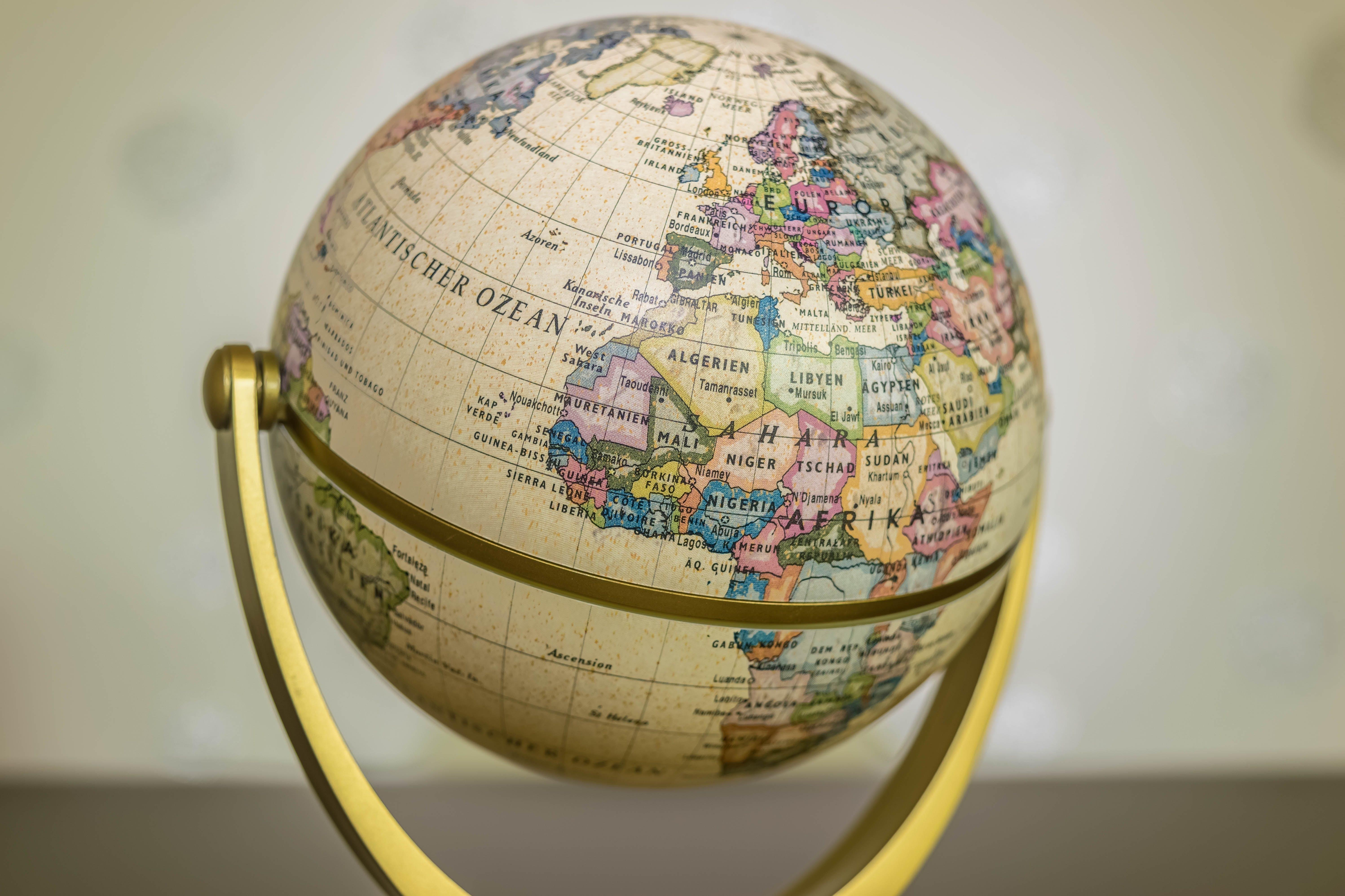 Free stock photo of earth, world, globe, map