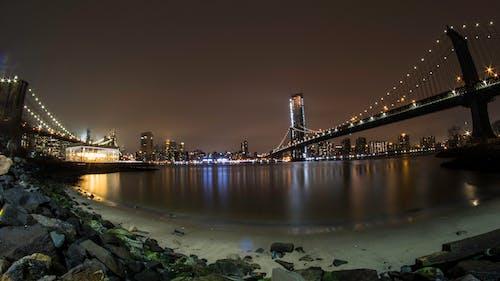 Fotobanka sbezplatnými fotkami na tému Brooklyn, Brooklyn Bridge, Manhattan, manhattanský most