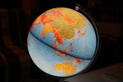 Immagine gratuita di cartina geografica, cibo, colore, globo