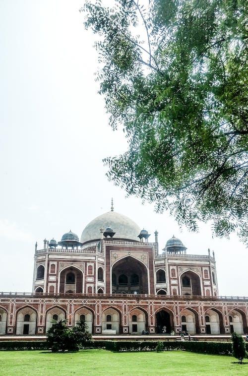 Immagine gratuita di architettura, delhi, design architettonico, humayuns