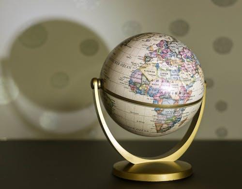 Ilmainen kuvapankkikuva tunnisteilla kartta, kuula, maanosat, maantiede