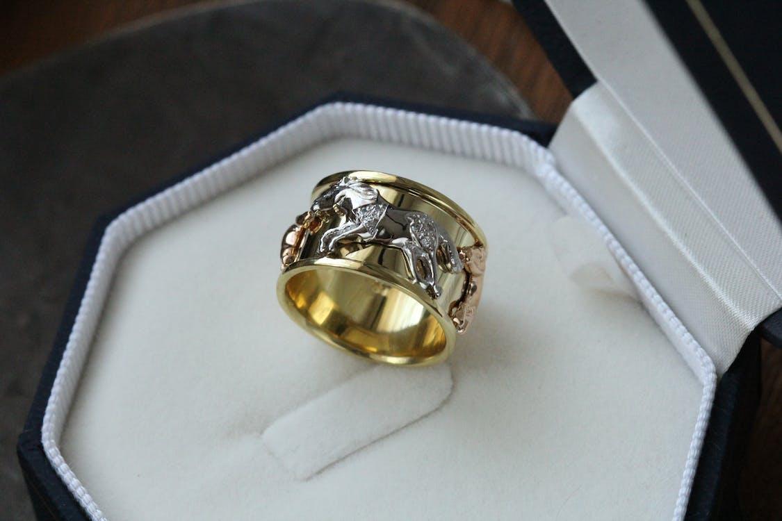 acessório, alianças, anéis de casamento