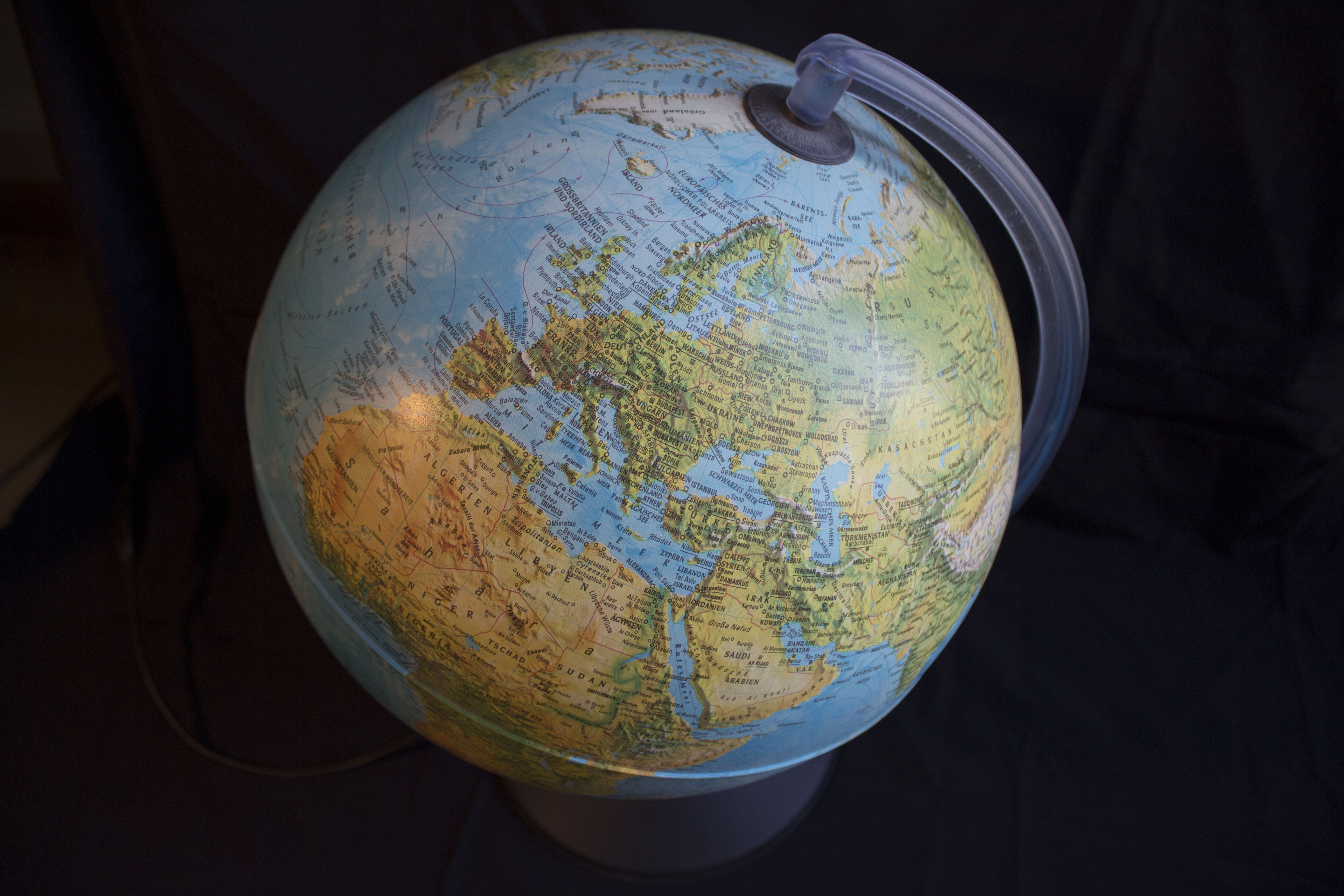 Free stock photo of earth, globe, europe, map of the world
