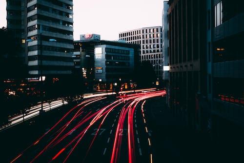 Kostenloses Stock Foto zu cityscrapers, film-fotografie, light, städtisch