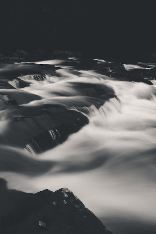Fotobanka sbezplatnými fotkami na tému dlhá expozícia, náladový, príroda, rieka