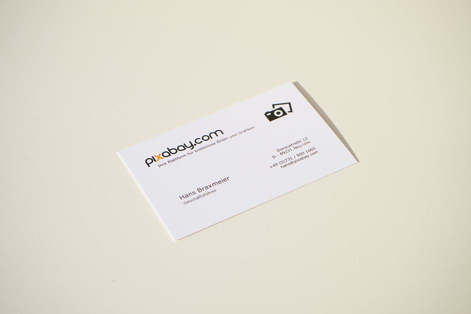 Free stock photo of address, business card, cards