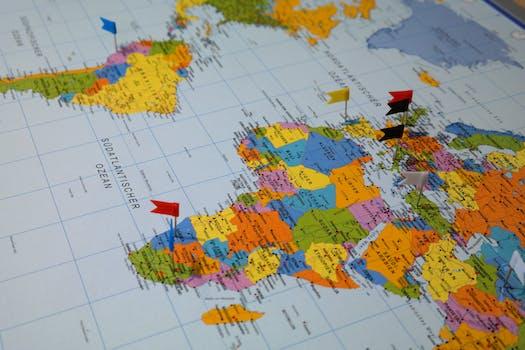 200+ Amazing World Map Photos · Pexels · Free Stock Photos