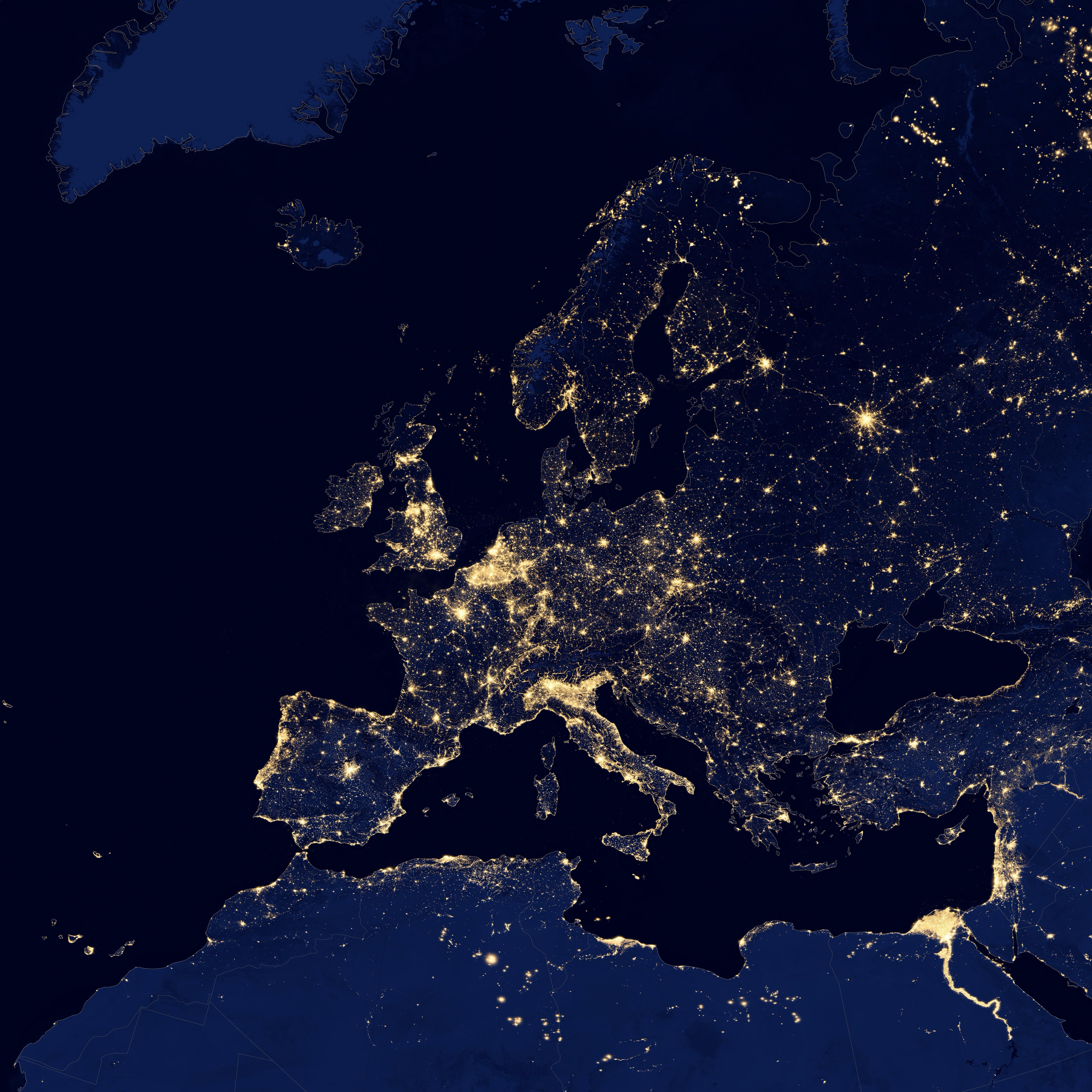 Free stock photo of city, sky, lights, night