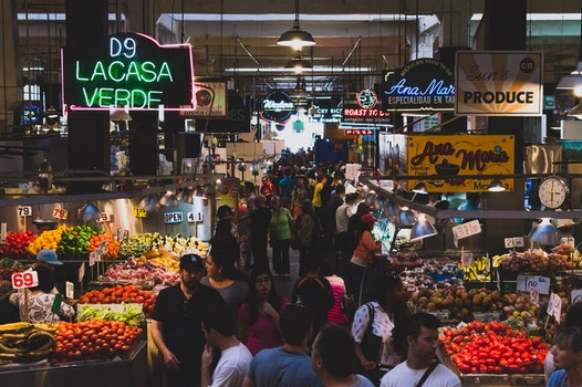 Free stock photo of food, vegetables, people, fruits
