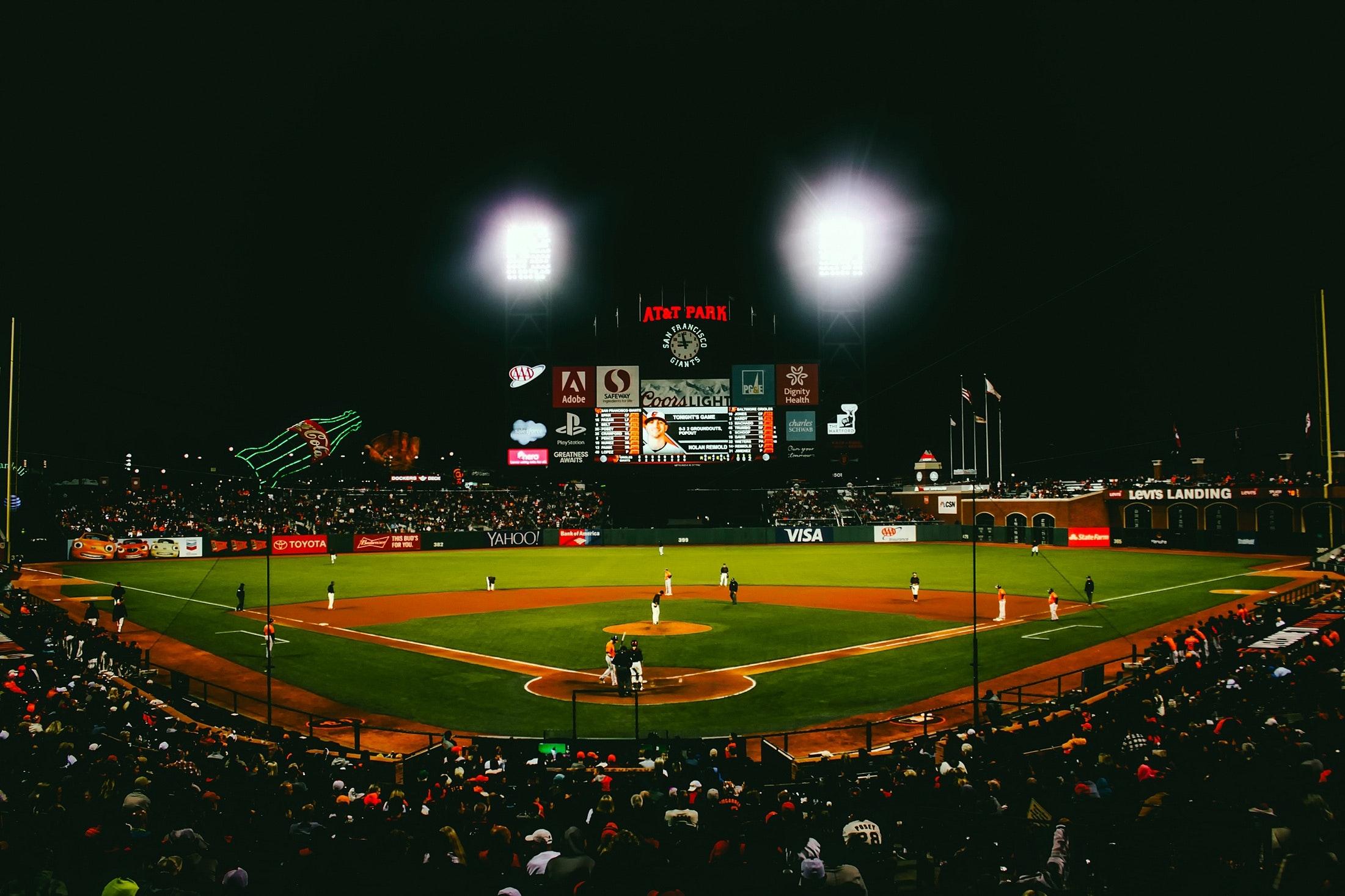 Foto stok gratis tentang atlet, bangku, baseball