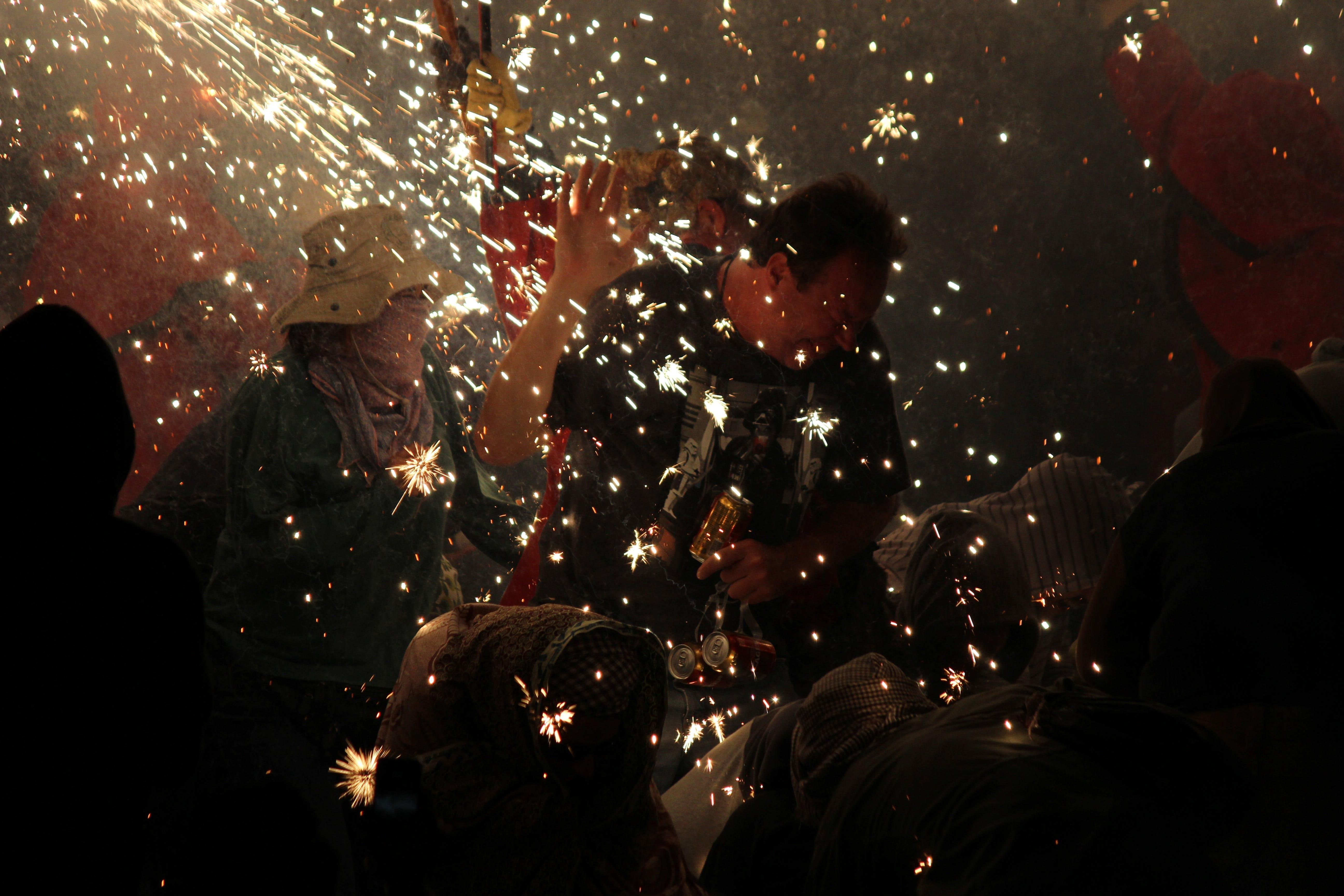 Free stock photo of celebration, crowd, festival, fireworks