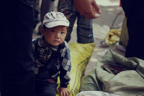 Kostnadsfri bild av ansiktsuttryck, asiatisk, barn, bebis