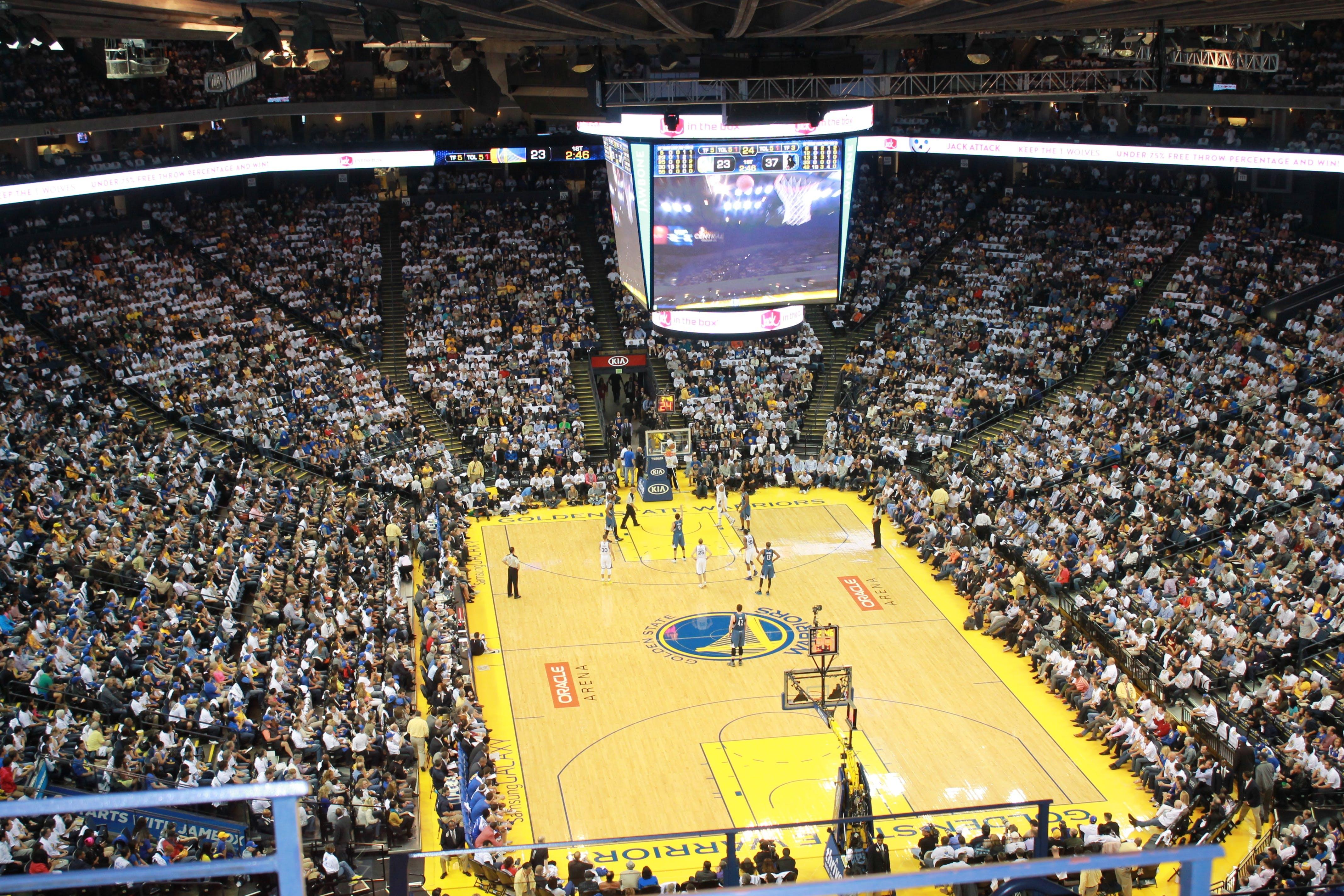 Free stock photo of people, crowd, stadium, basketball