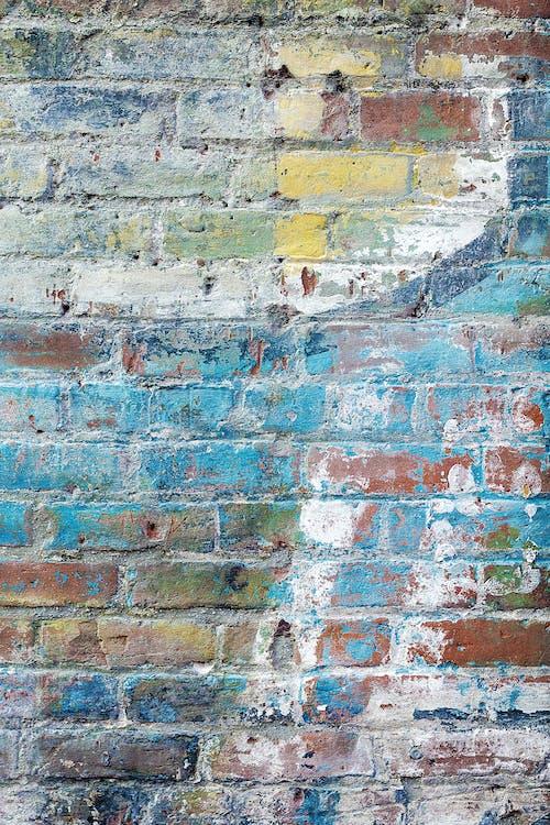 Бесплатное стоковое фото с граффити, кирпич, кирпичная кладка