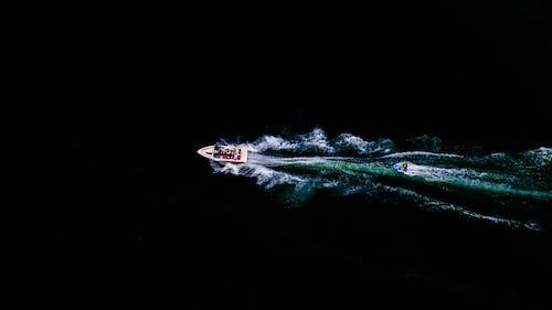 Foto stok gratis kapal, sungai, tubing, udara