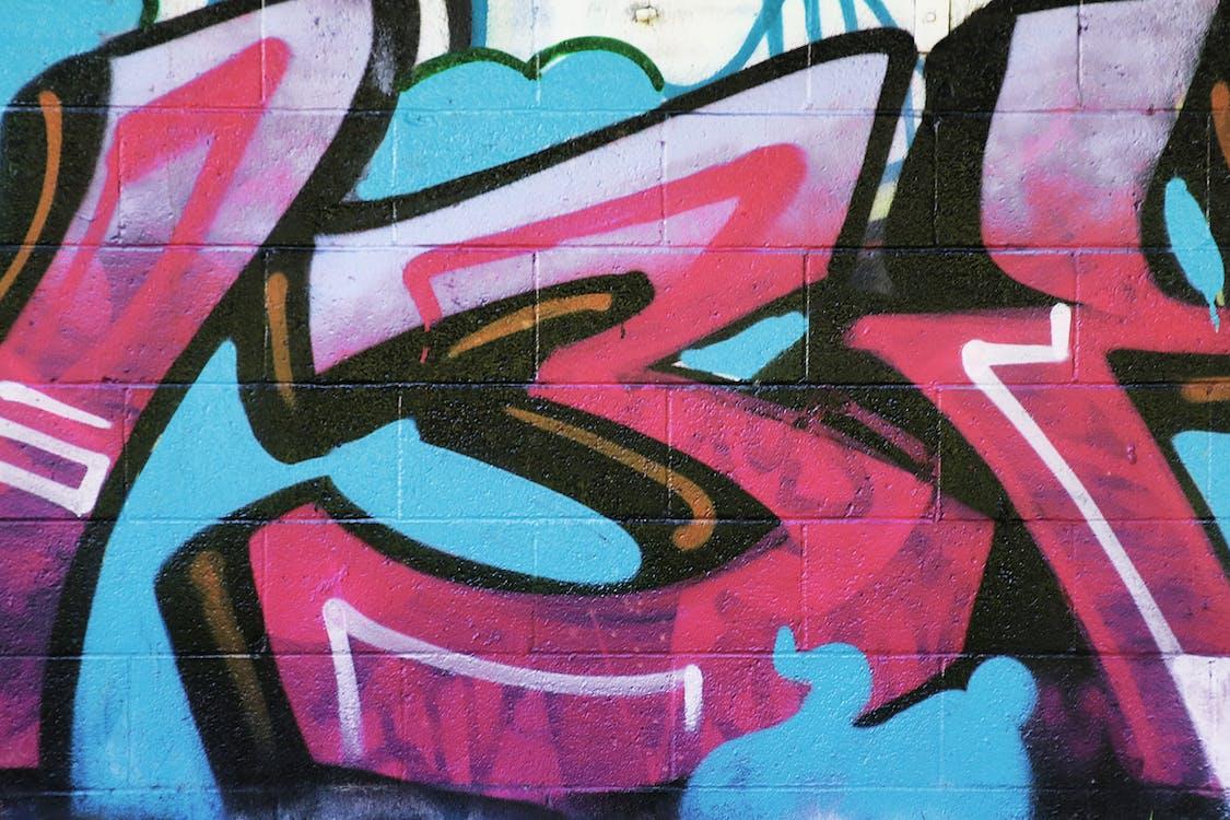 Imagine de stoc gratuită din cărămidă, graffiti, perete de cărămidă