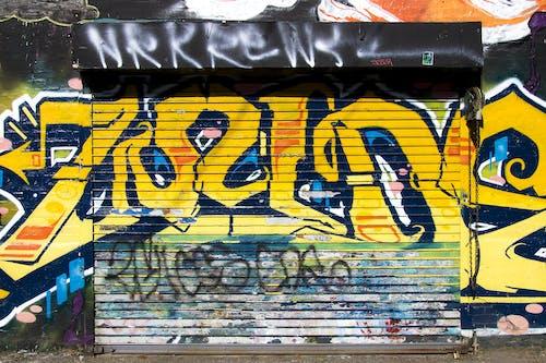 Бесплатное стоковое фото с аэрозольная краска, граффити, граффити стены